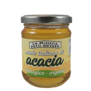 Barattolo di Miele di acacia, Linea Bio, Mieleria Rossi Novaro