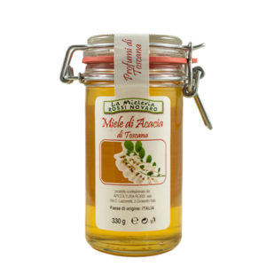 Barattolo di Miele di acacia, Ermetico, Mieleria Rossi Novaro